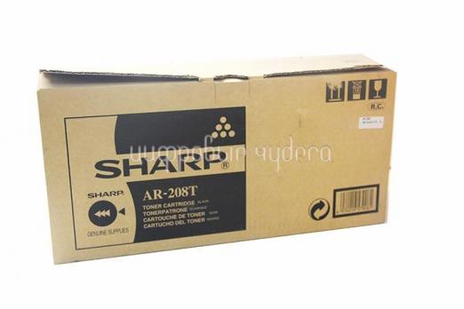 Тонер-картридж Sharp AR-208T/LT для AR5420/AR203. Чёрный. (8 000 к.)