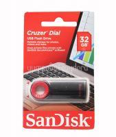 Флеш накопитель USB 32Gb Sandisk Cruzer Dial CZ57 черный
