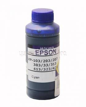 Чернила Epson Expression Home XP-series (№17) (L-type ф,с,100мл) Cyan Dya (водорастворимые) (INKO)
