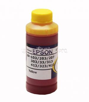Чернила Epson Expression Home XP-series (№17) (L-type ф,с,100мл) Yellow Dya (водорастворимые) (INKO)