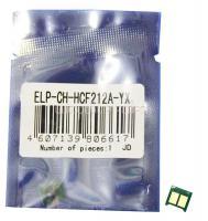 Чип картриджа HP CLJ Pro 200 M251/276 (CF212A) Yellow
