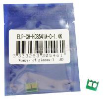 Чип картриджа HP Color LaserJet CP1215/CP1515/CP1518/CM1300MFP/CM1312MFP/CA LBP5000/CA 5050 Cyan, 1.4K (ELP, Китай) CE541A