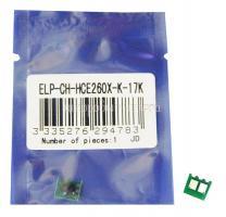 Чип картриджа HP Color LaserJet CP4025/4020/4525DN Black, 17K (ELP, Китай) CE260X