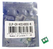 Чип картриджа HP Color Laserjet Enterprise 500 M551 Black, 11K CE400X (ELP, Китай)