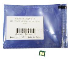 Чип картриджа HP CP1025/M175/M275 Yellow (CE312) 1К (Китай)