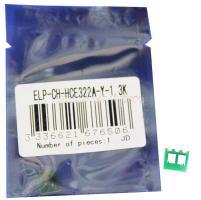 Чип картриджа HP LaserJet Pro CM1415/1525 (128A) CE322A Yellow, 1.3K (ELP, Китай)