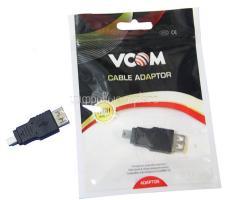 Переходник VCOM USB AF - miniBm на miniUSB (CA411)
