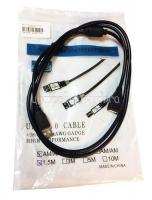 Кабель USB Am-Af Telecom (TUS6990) черный  1,5m