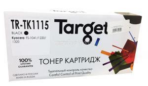 Тонер-картридж Kyocera FS-1041/1220/1320 (TK-1115) TARGET 2.1K