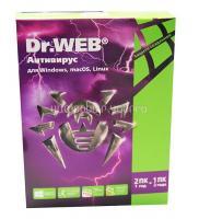 Антивирус Dr.Web на 12 месяцев,  на 2 ПК (AHW-A-12M-2-A2/BHW-A-12M-2A3)