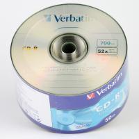 Диск CD-R Verbatim 700Mb 52x Dual layer Shrink (1 шт)