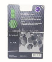 Заправ.комплект Epson Stylus C79/C110 (0731) Cactus (CS-RK-EPT0731) (2x30мл) черный