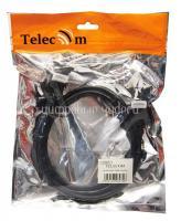 Кабель HDMI-HDMI TELECOM <1.0м>, 19M/19M, с двумя угловыми коннекторами, V1.4 {CG501D-A90}