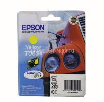 Картридж (T0634) Epson ST C67/87 желтый