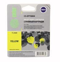 Картридж (T0804) Epson P50/PX660 желтый (Y) с чипом Cactus