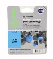 Картридж (T0805) Epson P50/PX660 светло-голубой (LC) с чипом Cactus