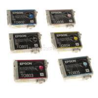 Картридж (T080x) Epson P50/PX660 набор (6 цветов) комплект OEM