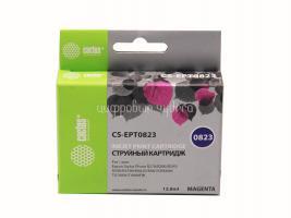 Картридж (T0823) Epson ST 270/290 RX590 Magenta Сactus