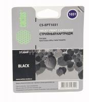 Картридж (T1031) Epson T1100/T30/T40W/TX600FW (черный) Cactus
