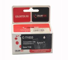 Картридж (T1033) Epson T1100/T30/T40W/TX600FW (красный) Colortek