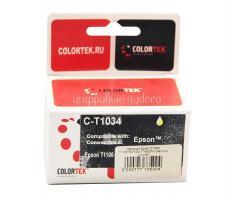 Картридж (T1034) Epson T1100/T30/T40W/TX600FW (желтый) Colortek