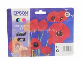Картридж (T1706) Epson XP-33/103/203/207/303/306/406 набор 4 цвета