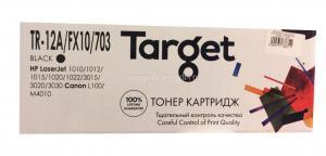 Картридж HP LJ 1010/1012 (Q2612A)/Canon LBP-2900/3000 (703/FX-10) 2K Target