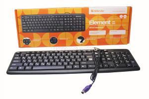 Клавиатура Defender Element HB-520 (черная) PS/2