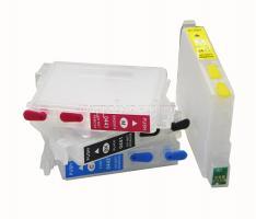 Перезаправляемые картриджи (ПЗК) Epson C64/C84/C86/CX6400/CX6600 (T044x) (INKO)