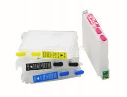 Перезаправляемые картриджи (ПЗК) Epson C67/C87/CX3700/CX4100/CX4700 (T063x) (INKO)