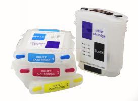 Перезаправляемые картриджи (ПЗК) HP DesighJet 111 (HP82/11) (INKO) с авточипами