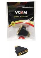 Переходник DVI D (25F) - HDMI (19M) позол.контакты VCOM /VAD7819/