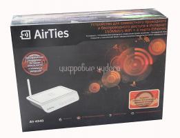 Роутер WiFi AirTies Air 4340, 150Мбит/с, 1хWAN, 4xLAN